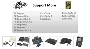 Image 5 - DIY 500 in 1 PCE Turbo GrafX Game Cartridge for PC Engine Turbo GrafX Game Console Card