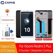 Original For Redmi 5 Plus LCD Display + Frame For Xiaomi Redmi 5 Plus Display Screen 10 Touch Screen Replacement Spare Parts