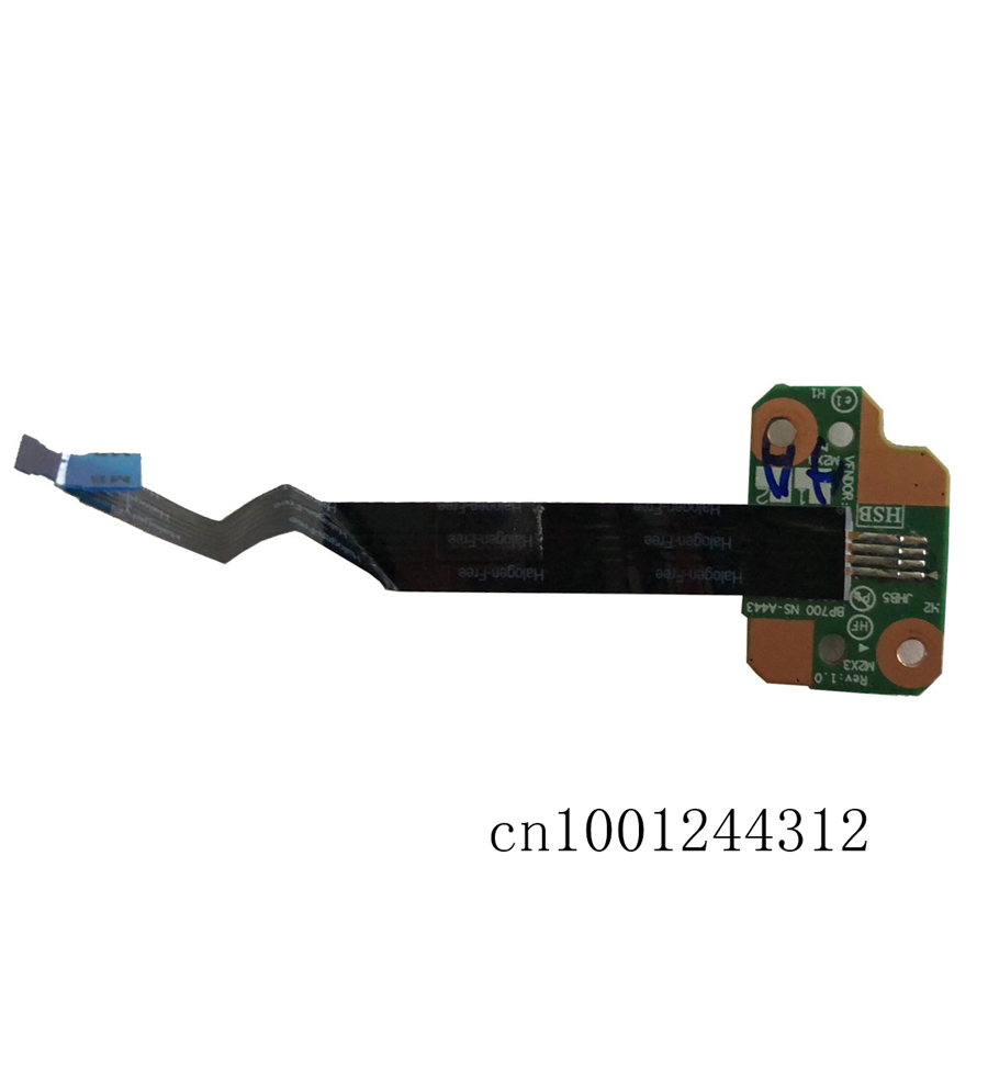 New Original For Laptop Lenovo Thinkpad P70 P71 Power Button Board Cable NBX0001GH00