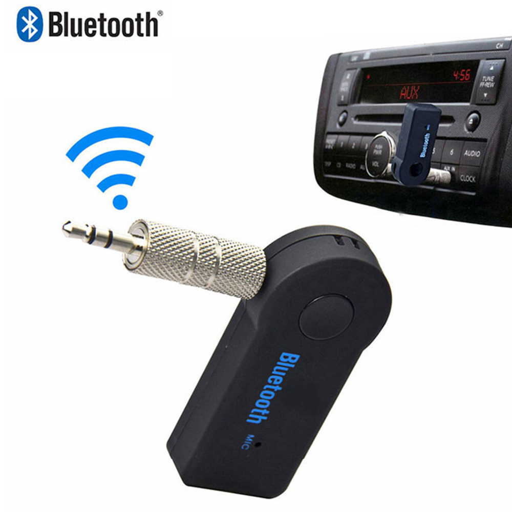 <font><b>Bluetooth</b></font> 4.0 Audio Receiver Transmitter 3.5mm AUX Stereo <font><b>Adapter</b></font> for PC TV <font><b>PSP</b></font> Phone Ipad Video Player image