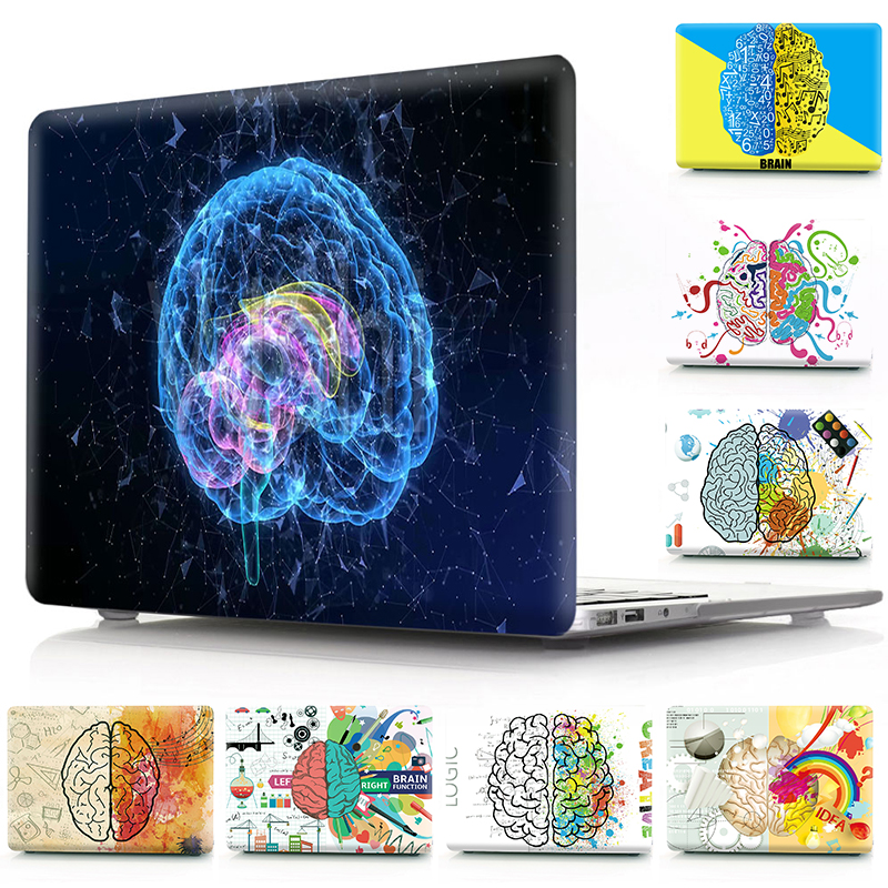 Brain Painting Hard Case <font><b>Cover</b></font> For <font><b>Macbook</b></font> Air 13 11 <font><b>Pro</b></font> 12 13 <font><b>15</b></font> <font><b>15</b></font>.4 16 Protective Shell Sleeve For <font><b>Apple</b></font> Mac <font><b>Pro</b></font> Air 13 Case image