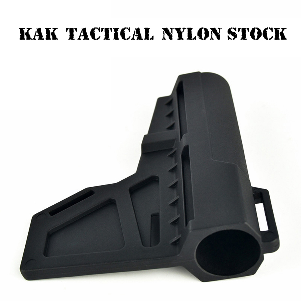 KAK Nylon Tactical Toy Gun Stock Gel Blaster Upgrade Extended Stock Upgrade Part Replacement  Accessories