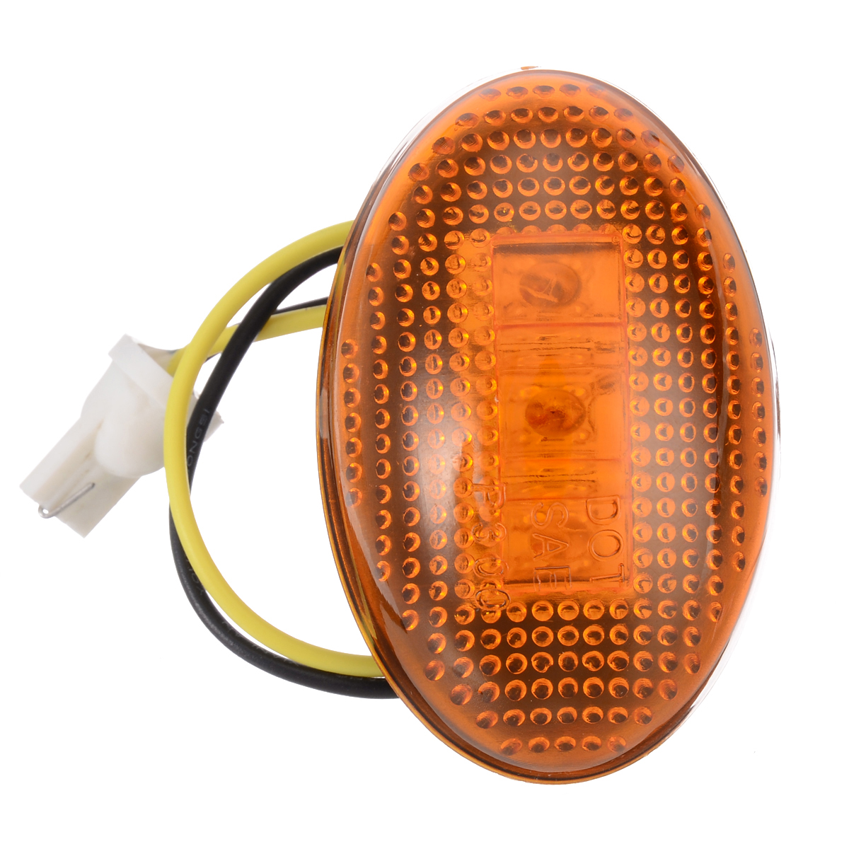 2 Pair 12V Front Rear Fender Side Marker Light 3LED Car Signal Lamp 8C3Z 15442 B Amber Red For Ford F350 1999 2010 in Signal Lamp from Automobiles Motorcycles