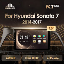 Kingbeats Android 8.1 Head Unit 4G In Dash Auto Radio Multimedia Video Player Navigatie Gps Voor Hyundai Sonata 7 lf 9 2014(China)