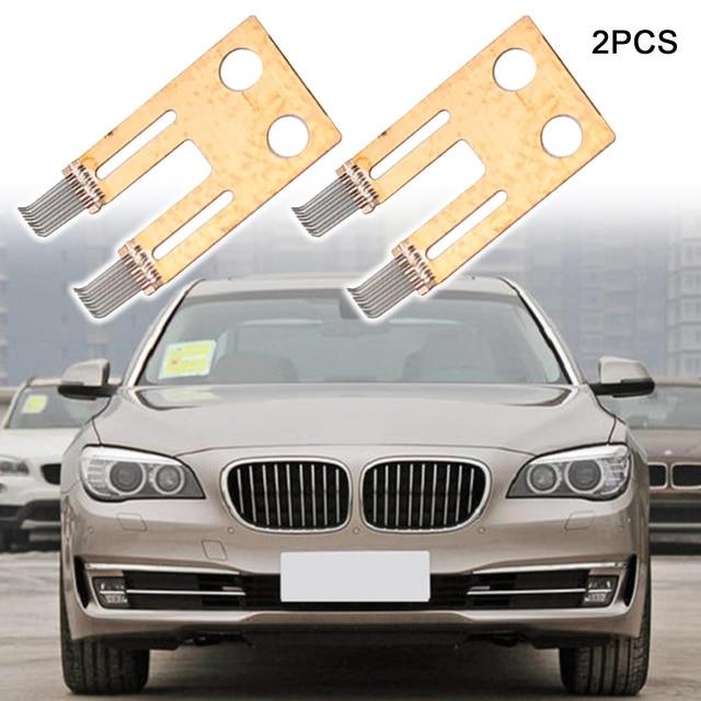 2PCS Steering Column Switch Angle Sensor Contact Brush Repair Kit Fit For BMW E65 E66 E60 730 740 530 7 Series Automobiles New