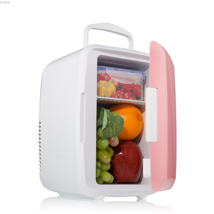 Dual-purpose Cold And Fresh Keeping Heating And Heat-insulation Refrigerator 6L Mini Car And Home Use Small Sized Refrigerators