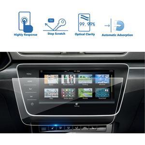 RUIYA Car Screen Protector For Superb Business Columbus 9.2 Inch 2019 2020 Navigation Display Screen Auto Interior Accessories(China)