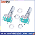Original,Rotary encoder,Code Switch/EC11/ Audio Digital Potentiometer,With Switch,5Pin, Handle Length 20mm
