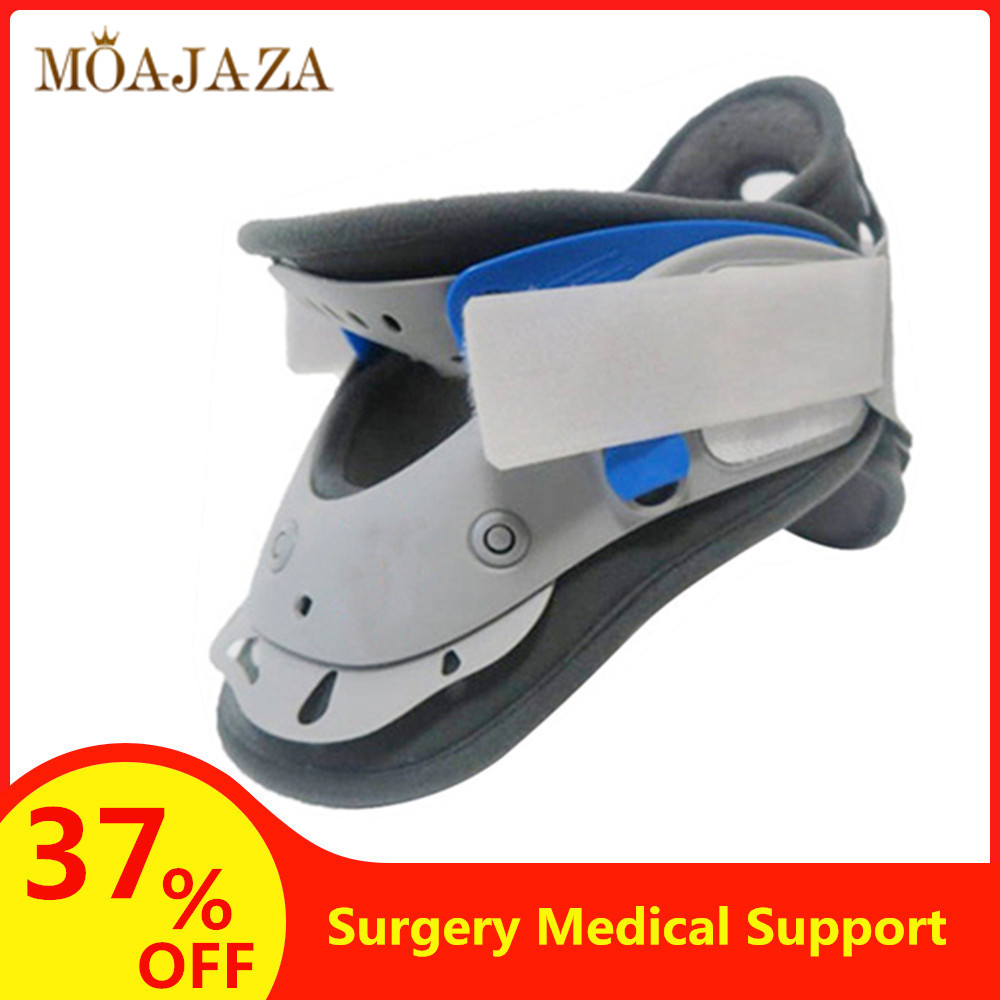 Cervical Traction Neck Support Device Adjustable Orthosis Neck Stretcher Spine Posture Corrector Pain Relief Medical Devices(China)
