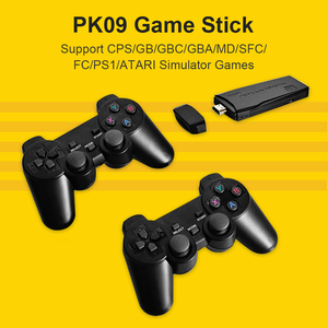 Image 3 - POWKIDDY Tv Game Stick 4K HD Video Game Console Retro Arcade 64GB 10000 Games Wireless Dual Controller Gamepad Childrens Gifts