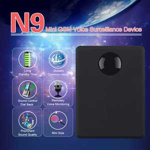 Mini GSM Device N9 Voice Monitor Callback Surveillance Excellent Standby Personal Voice Activation Built in Two MIC Small Size