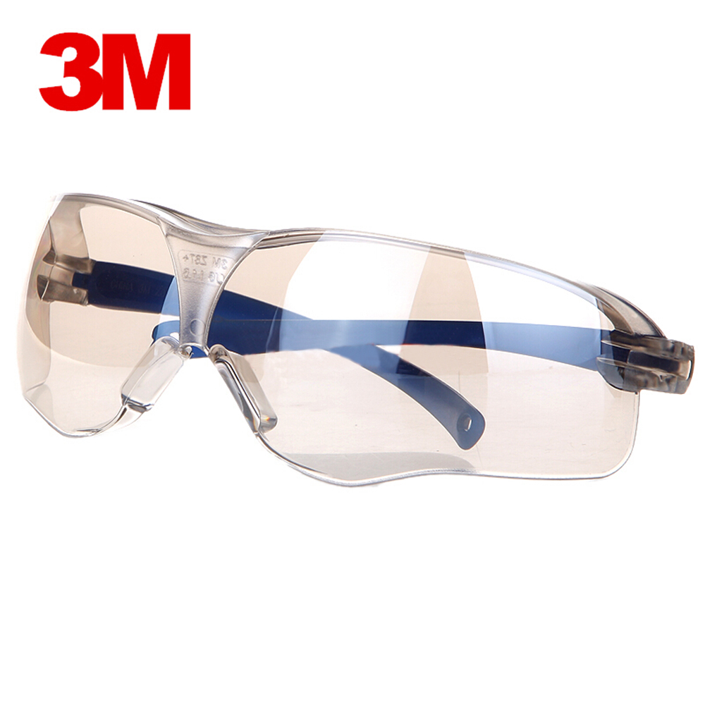 3M 10436 Safety Glasses Anti-shock PC Lens Goggles Anti-splash Anti-UV Windproof Riding Protective Glasses Working Eyewear