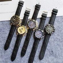 vintage carved watch man Original steel band wristwatch fashion classic designer