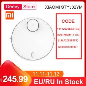 Image 1 - Xiaomi mijia varrendo esfregar robô styj02ym mi aspirador de pó para casa automático poeira esterilizar inteligente planejado wifi controle app