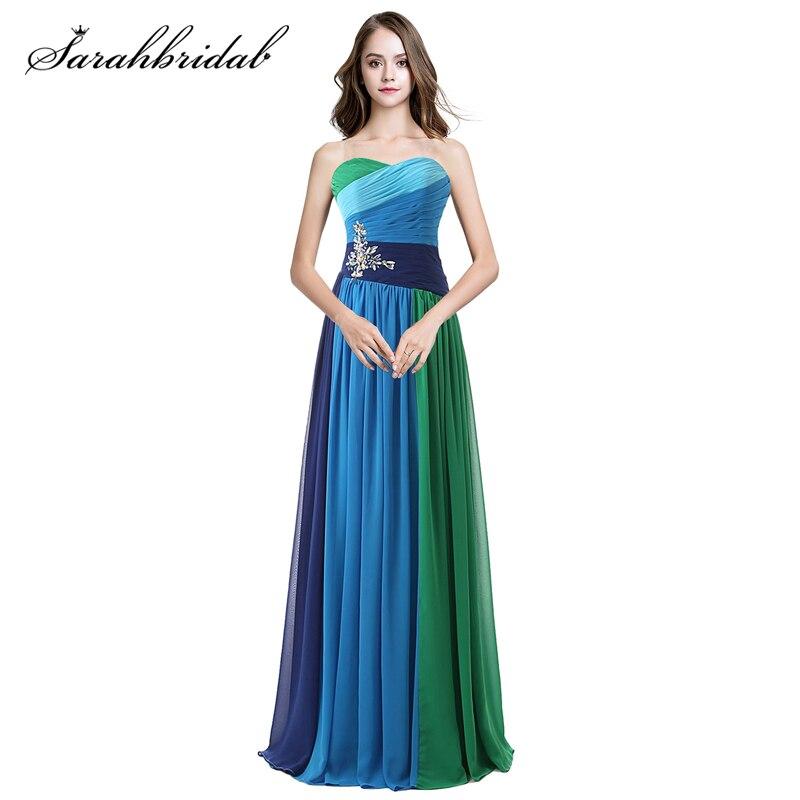 Encantadores vestidos de baile longo querida cristal