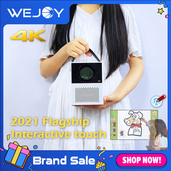 [2021 Flagship] WEJOY Y2 Touch Projector 4K mini portable Android TV WIFI Home Smart led projector for movie LCD Projector Phon 1