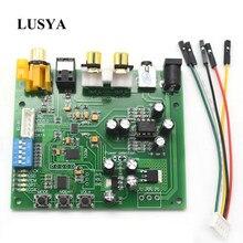 Lusya ES9038Q2M I2S IIS DSD DOP koncentryczny z włókna SPDIF dźwięk cyfrowy płyta dekodera DAC wsparcie 32bit 384k DSD64 128 256