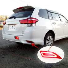 цена на Automobile Lamp Rear Fog Light Bumper  For Toyota Corolla Fielder 2015 2016 2017 2018 LED Driving Light  Brake Light Turn Signal