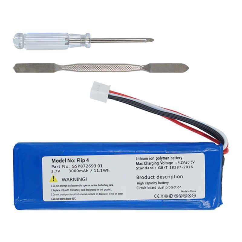 Ohd 3000Mah Hoge Kwaliteit Batterij GSP872693 01 Voor Jbl Flip 4, Flip 4 Speciale Editie