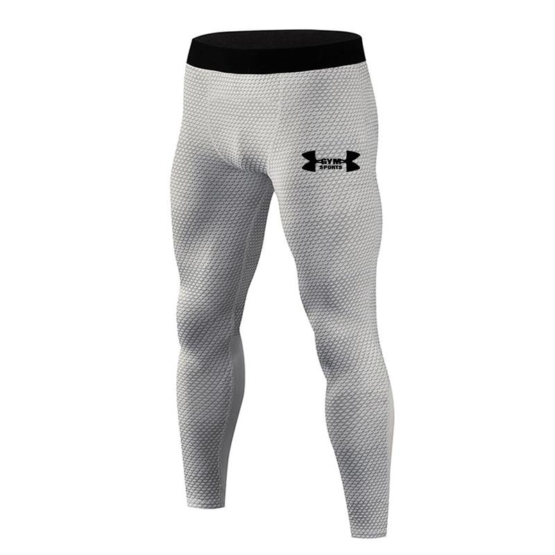 2019 Hot New Compression Pants Jogger Men Training Fitness Sports Leggings Gym Jogging Long Pant Male Sportswear Yoga Bottoms 2