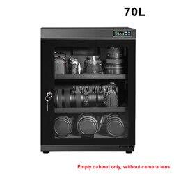 70L полный автоматический электронный сухой шкаф коробка SLR объектив камеры осушитель сушки влагостойкий Шкаф сенсорный светодиодный экран ...