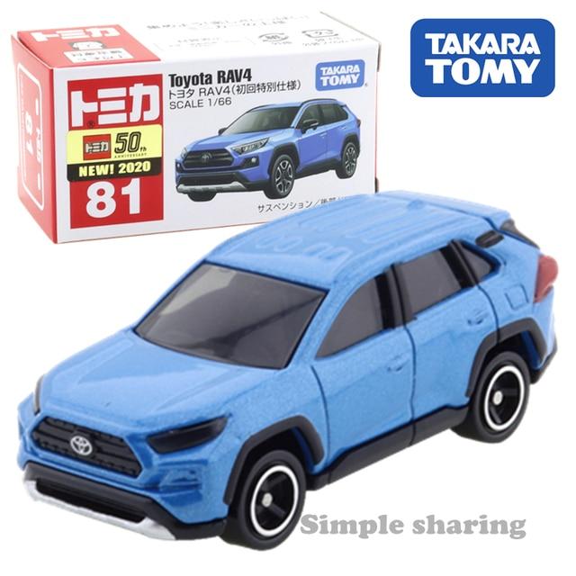Toy Car Toyota RAV 4 White Diecast Metal Model Car Scale 1//36