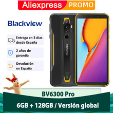 Blackview BV6300 Pro IP68 waterproof Smartphone rugged Android 10.0 Phone 6 GB 128 GB 4380 mAh NFC Mobile Phone