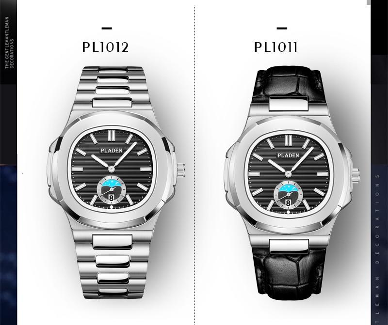 relógio cronógrafo quartzo branco relógio pulso