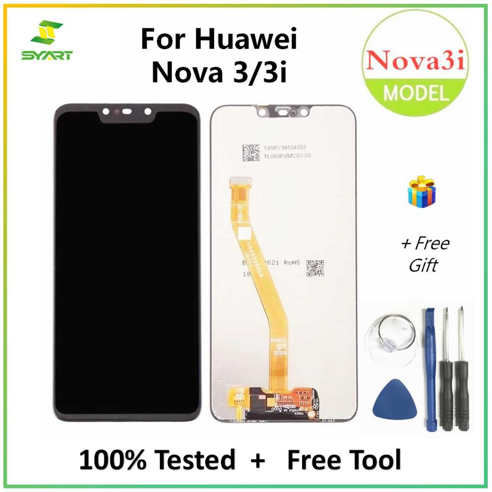 For Huawei Nova 3 3i LCD Display Touch Screen Digitizer Assembly Replacement For PAR-AL00 PAR-LX1 PAR-LX1M PAR-LX9 PAR-TL20 LCDs