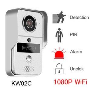 Image 2 - IP Video Intercom 4G Video Door Phone Ring Door Bell Doorbell WiFi Camera Alarm Wireless Security SD Card Camera add 32GB Card