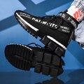 Sapatos populares para homens tênis casuais masculinos sapatos de meia respirável masculino adulto alto superior homem formadores zapatos hombre sapatos