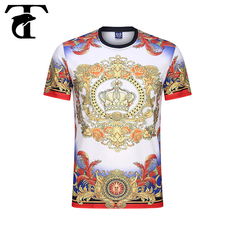Summer Men T-shirt New Arrival 2020 British Fashion Style Brand Short Sleeved T Shirt Symmetry Printed Casual Tees Tops Clothes
