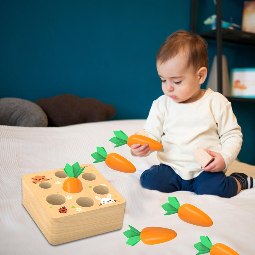 de cenoura, classificação de tamanho, jogo, aprendizagem