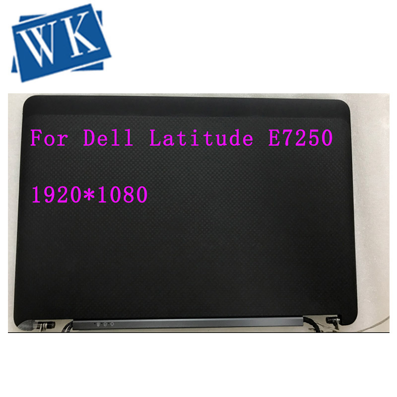 For Dell Latitude E7250  12.5 Touchscreen 1920*1080 LCD Display Complete Assembly