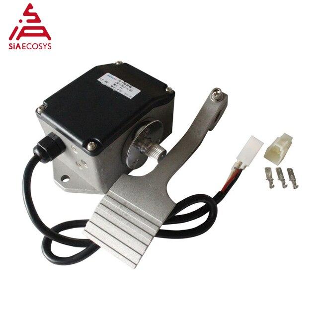 Pedal elétrico do acelerador para o carro do triciclo 0.8 4.2 v