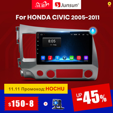 Junsun V1 2G + 32G Android 10.0 DSP Radio Multimedia Video Player Per Honda Civic 8 2005 2011 di navigazione GPS No 2din 2 din dvd