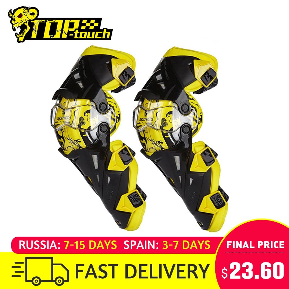 Scoyco Motorcycle Knee Pad Men Protective Gear Knee Gurad Knee Protector Rodiller Equipment Gear Motocross Joelheira Moto #(China)