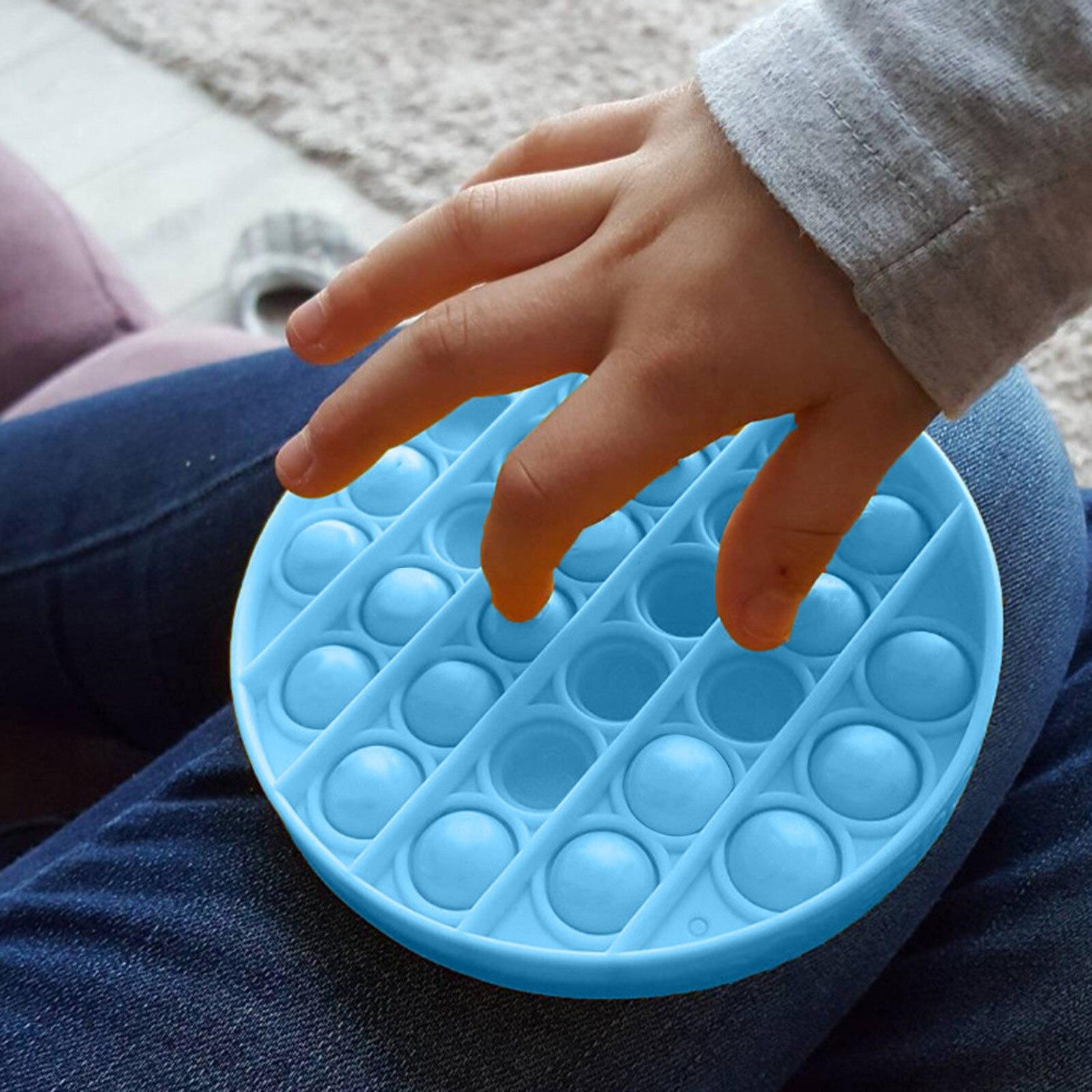 Пуш-ап поп пузырь сенсорная игрушка для аутистов потребности мягкие игрушки для снятия стресса для взрослых и детей смешные анти-стресс выталкивает его Непоседа Reliver стресс