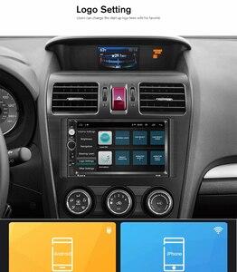 Image 4 - 2G RAM אנדרואיד 8.1 אוטומטי רדיו Quad Core 7 אינץ 2DIN אוניברסלי רכב אין נגן DVD GPS סטריאו אודיו ראש יחידת תמיכת DVR OBD BT