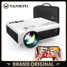 VANKYO Mini Projector 3600 Brightness 1080P Portable WiFi Projector Synchronize Smartphone Screen for iOS/Android Devices