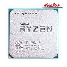 AMD Ryzen 5 1600 R5 1600 3.2 GHz altı çekirdekli oniki iplik 65W CPU İşlemci YD1600BBM6IAE soket AM4