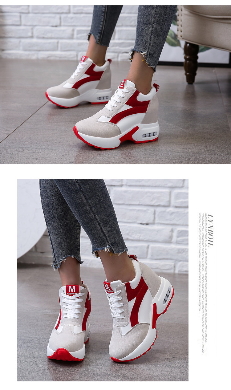 women sneakers shoes for women Platform Shoes Women Breathable Height Increasing Shoes Trainers Sneakers Woman zapatillas mujer