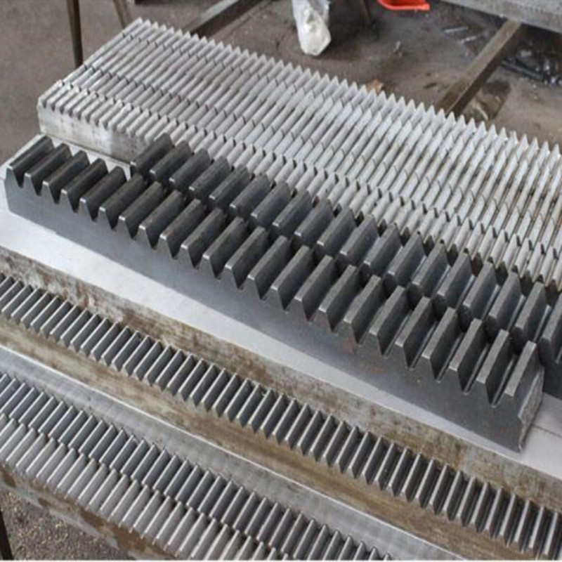 1 1.5M 2 Mod 1.5 Modulus 20*20 1000mm Straight / Oblique Teeth Steel Gear Rack For Small Manufacturing Diy Drive