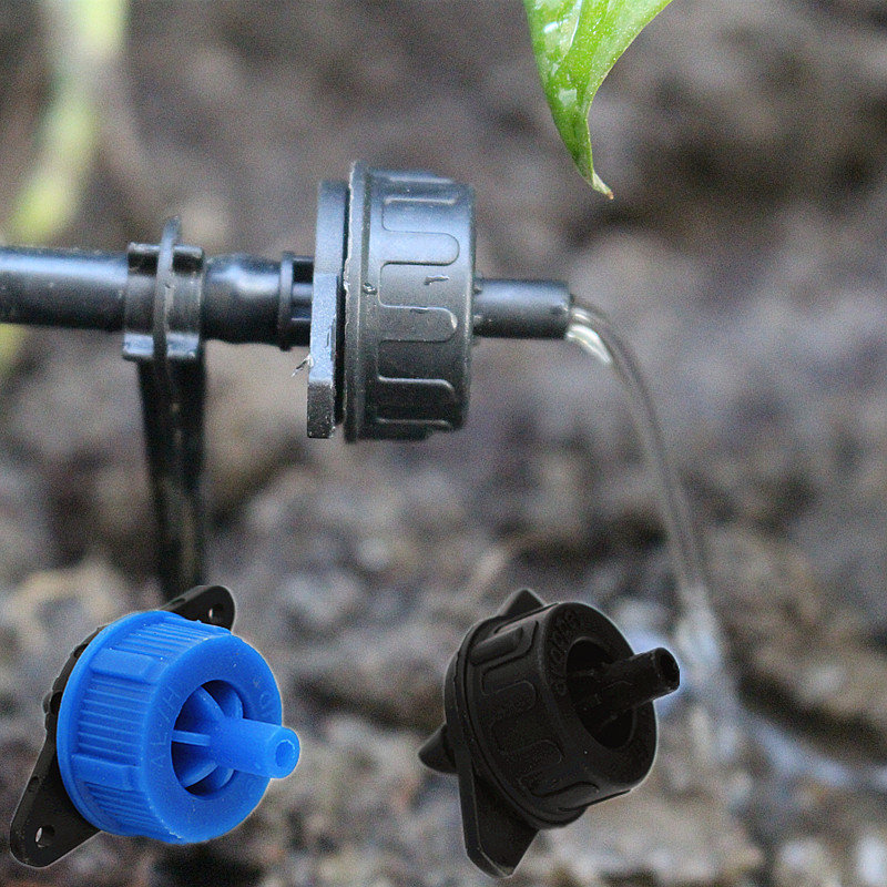 300pcs/pack 4L/H 8L/H Pressure Compensating Drip Irrigation Emitter Turbo Style On Line Dripper Garden Watering N204