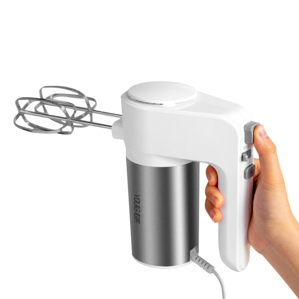 Image 3 - YOUPIN YOULG YG9106 Electric Egg Beater 300W 6 Speed Control Egg Milk Flour Drink Electric Mixer Kitchen Cooking Baking Tool-in Blenders from Home Appliances