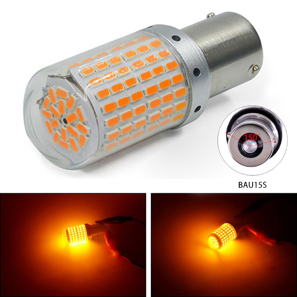 Spare Turn Signal Light 3000k Lamps Front Car Replacement 12V-24V Bulbs
