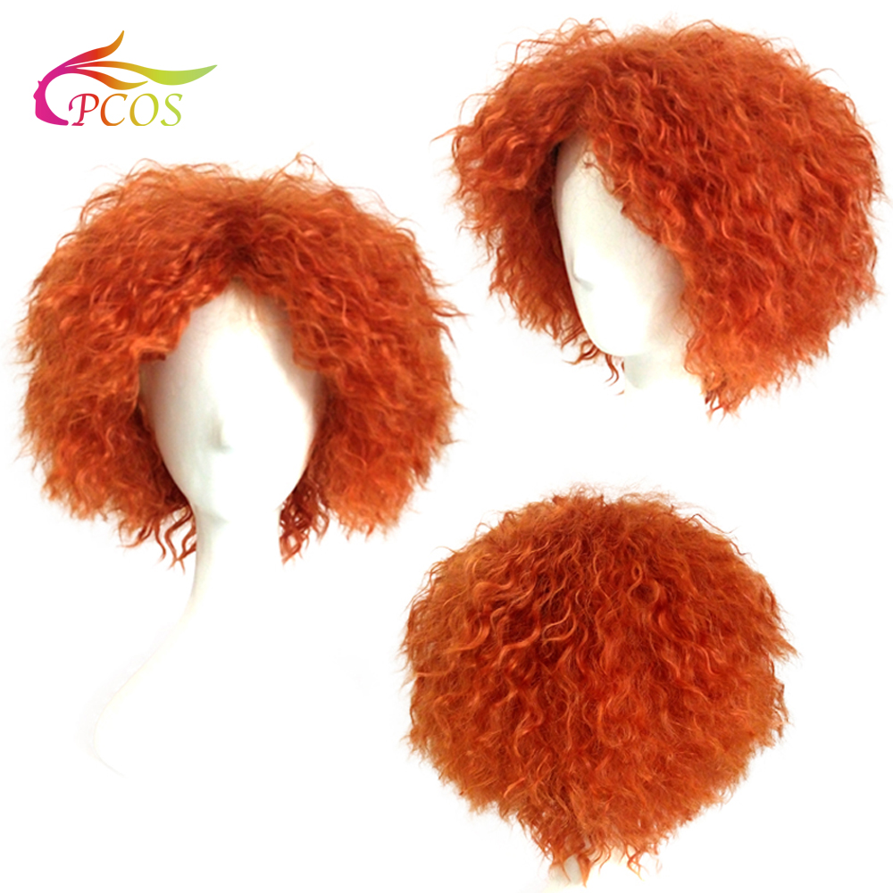 Alice in Wonderland Wigs the hatter red wig mad hat sir mad tea party cosplay prop wigs
