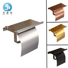 Shengruijia нержавеющая сталь рулон стенд держатель мобильного телефона отель ванная комната полки для хранения для ванной комнаты оборудование держатель туалетной бумаги