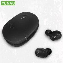 YUNAO A8S Wireless Bluetooth Earphones ln-ear mini Binaural HD earphone mic Support Siri voice PK i80 i200 tws earbuds