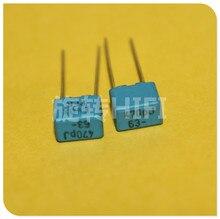 20PCS NUOVO EVOX PFR5 470PF 63V P5MM MKP 471 pellicola EVOX RIFA PFR 470p 470pf/63v 0.00047UF 63VDC 471/63V